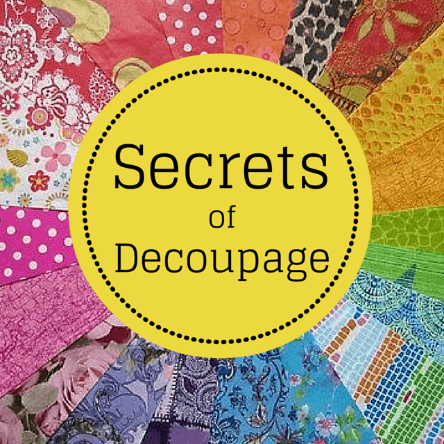 secrets of decoupage