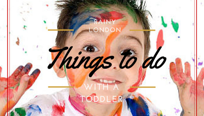activities with a toddler
