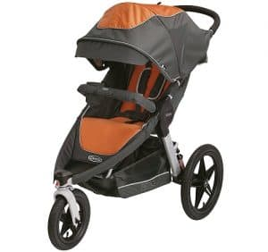 graco relay click connect performance jogger image