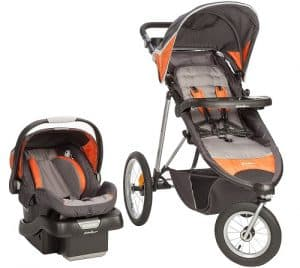 eddie bauer trailguide jogger travel system image