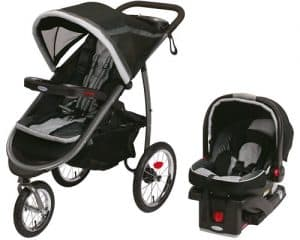 graco fastaction fold jogger baby travel system image