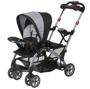 baby trend sit n stand ultra stroller image