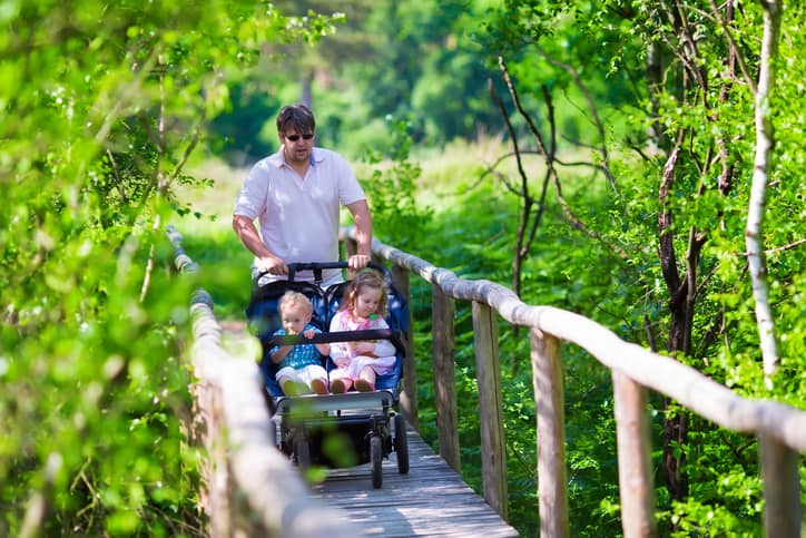 side by side double stroller featured image
