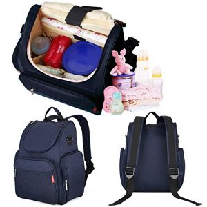 j giovanni diaper bag with stroller traps