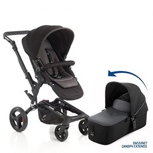 jane rider premium travel system stroller with bassinet