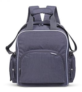 mbayshore baby diaper backpack with built in stroller straps