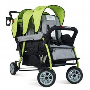 foundations trio sport triple tandem stroller