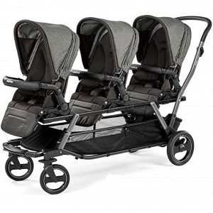 peg perego triplette piroet stroller with pop up seats