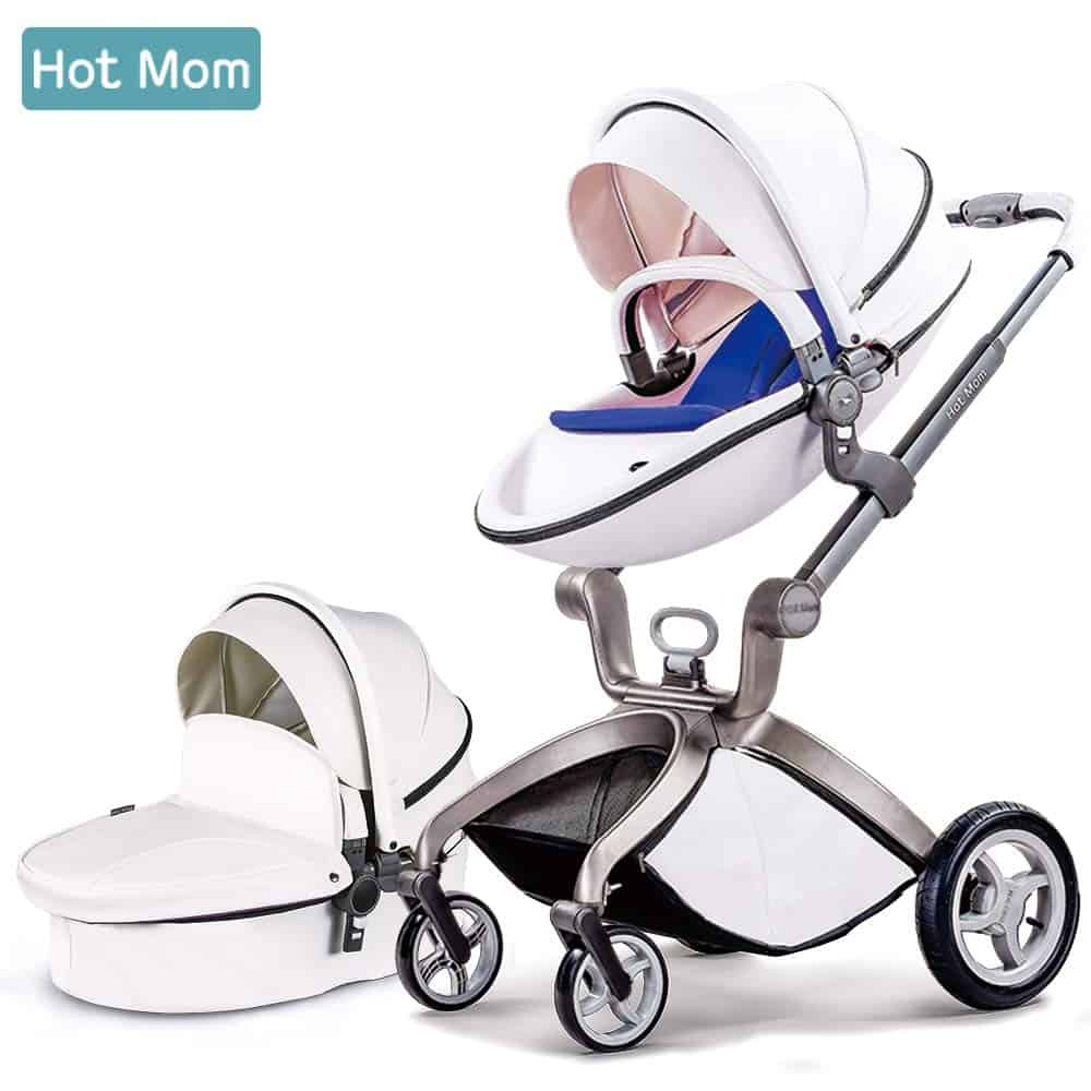 Hot Mom 3-in-1 Travel System and Bassinet Baby Stroller