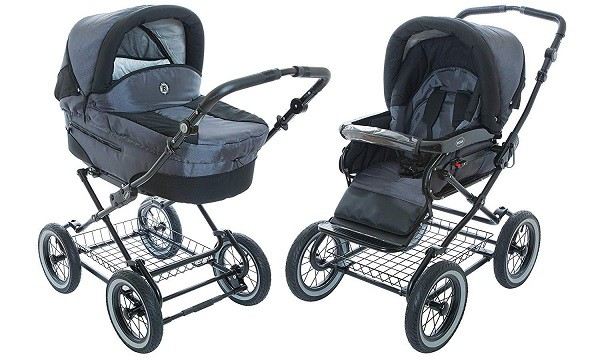 Roan Baby Stroller with Bassinet
