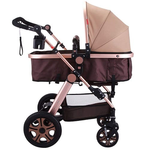 VEVOR Foldable Anti-Shock Newborn Stroller
